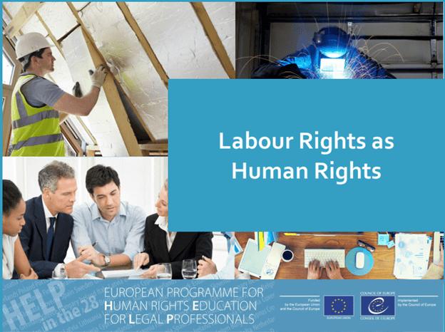 """Трансграничен курс по програмата HELP на Съвета на Европа на тема: """"Labour Rights as Human Rights"""" във Варшава, Полша (6-7 май 2019 г.)"""