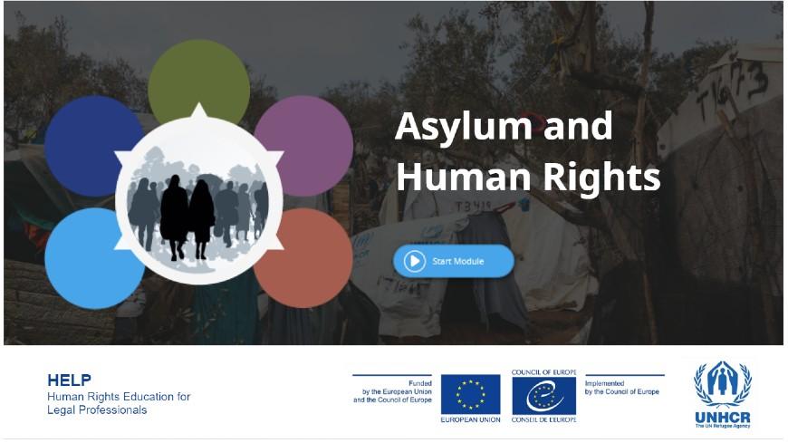 """Подбор на участници в онлайн курс по програма HELP на Съвета на Европа на български език на тема: """"Убежище и права на човека"""""""